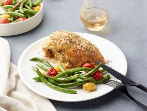 Herbs de Provence Roasted Chicken Breasts