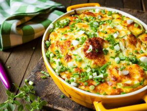 Turkey Sausage and Egg Casserole